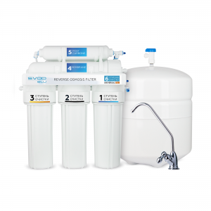 "Reverse Osmosis Filter ""SVOD-BLU"" UNIVERSAL Fe- (RO-6) with mineralizer"